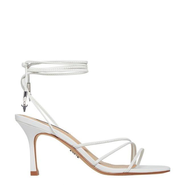 Adore White Stiletto Heel   Windsor Smith