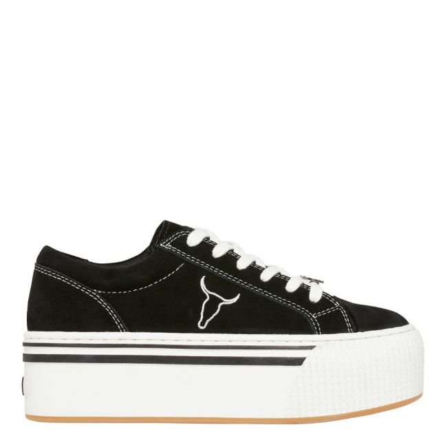 Shady Black Suede Sneakers | Windsor Smith