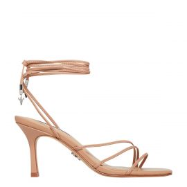 ADORE NUDE LEATHER HEEL