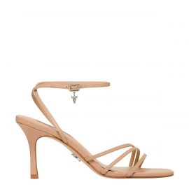 AFFECTION NUDE LEATHER HEEL