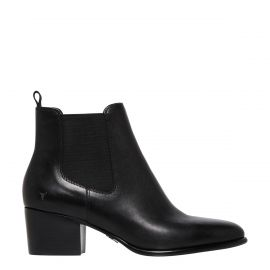 CARMEN BLACK LEATHER BOOT