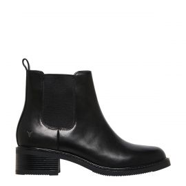 CECE BLACK LEATHER BOOT