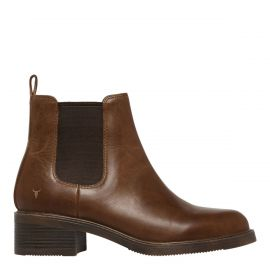 CECE TAN LEATHER BOOT