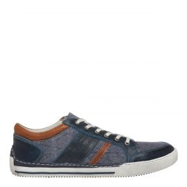 CEDRIC NAVY LEATHER