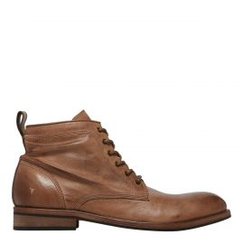 CORY WASHED BROWN LEATHER