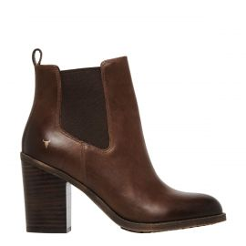 DENVER CHOCOLATE LEATHER BOOT