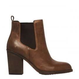 DENVER TAN LEATHER BOOT