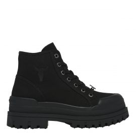 DESERVE BLACK CANVAS BOOT