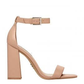DREAMING NUDE LEATHER HEEL