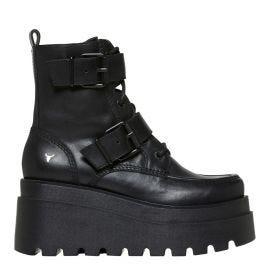 mocc stitching flatform boot