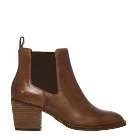 FAITH TAN LEATHER BOOT