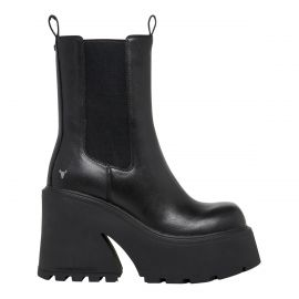 FILTHY BLACK LEATHER BOOT *PRE-ORDER*