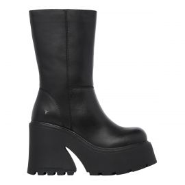 FORBIDDEN BLACK LEATHER BOOT *PRE-ORDER*