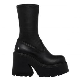 FOUND BLACK STRETCH SOCK BOOT