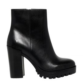 FRIDA BLACK LEATHER BOOT