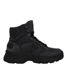 GANG CHARCOAL LEATHER BOOT