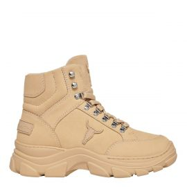 GANG OATMEAL LEATHER BOOT
