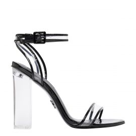Women's clear perspex sandal - side view - Windsor Smith