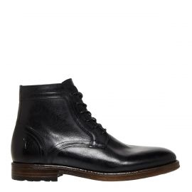 HARVEY BLACK LEATHER BOOT