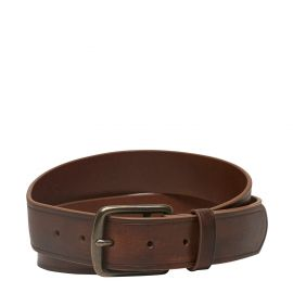 LOUIS JEAN BELT TAN LEATHER