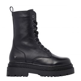 PAYBACK BLACK LEATHER BOOT