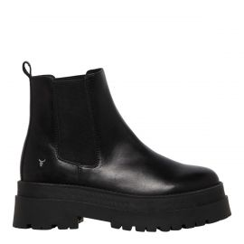 PHANTOM BLACK LEATHER BOOT