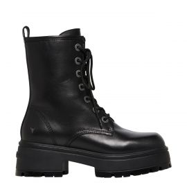 POLAR BLACK LEATHER BOOT
