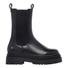 PRIVACY BLACK LEATHER BOOT