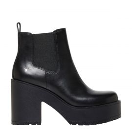 Chunky platform pull on boot - side view - Windsor Smith