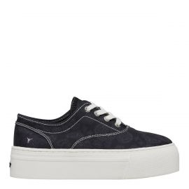 REKINDLE BLACK BANDANA CANVAS SNEAKER