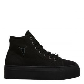 RUNAWAY BLACK CANVAS / BLACK SNEAKER