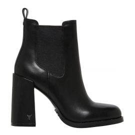 SORCERY BLACK LEATHER BOOT