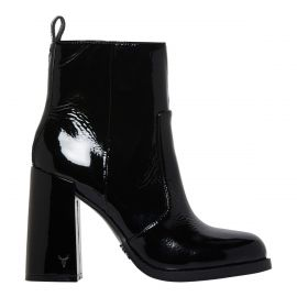 SOUL BLACK CRINKLE PATENT BOOT