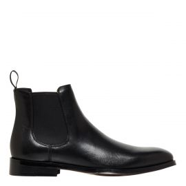 Men's Black wedding dress boot