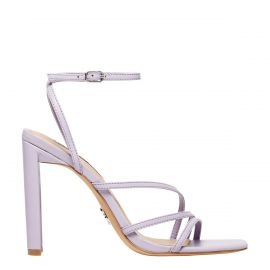 VENUS LILAC LEATHER HEEL