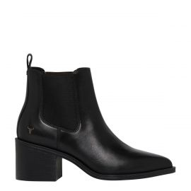 WONDER BLACK LEATHER BOOT