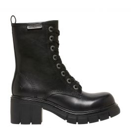 Drift Black Leather Boot by Windsor Smith