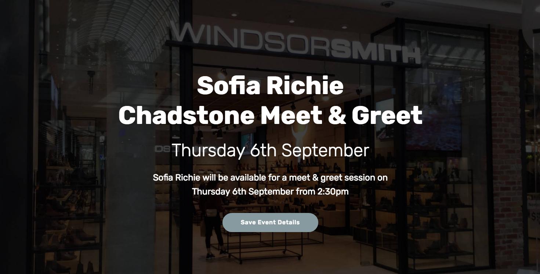 Sofia Richie Ws Chadstone Meet And Greet
